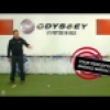 Golf putting tips -  Alignment Drill